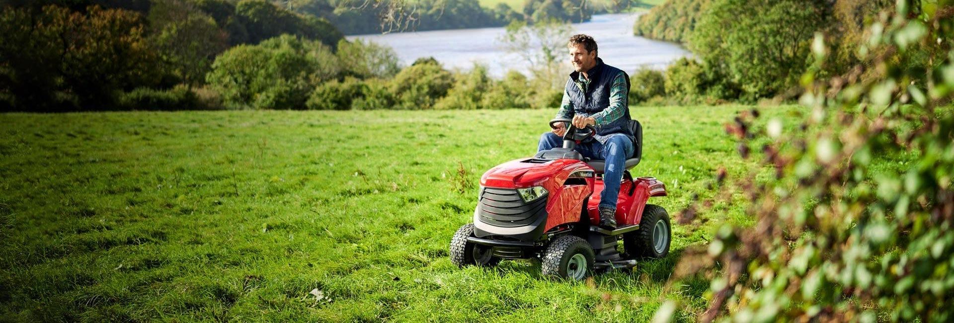 Petrol Garden Tractors